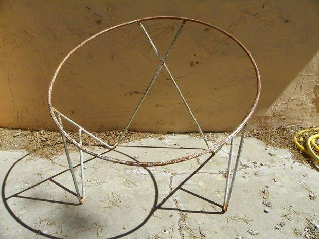 Плетеное кресло своими руками Мебель своими руками - BigHandMade