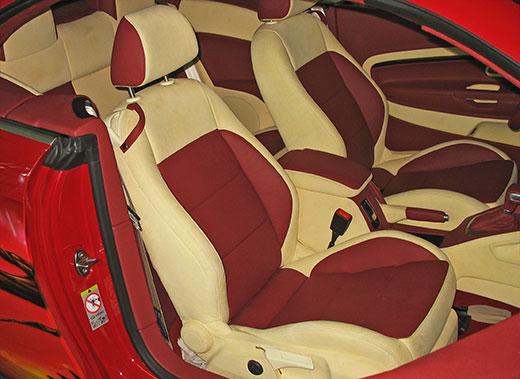 Перетяжка сидений автомобиля Авто самоделки - BigHandMade