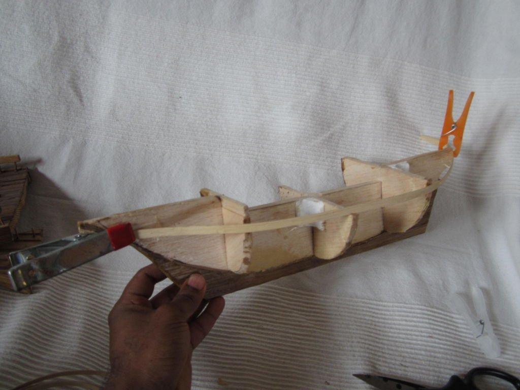 Корабль своими руками в домашних условиях