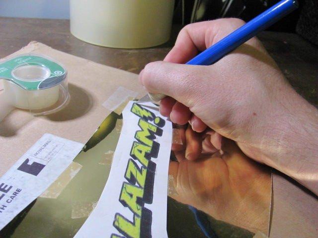 Как сделать качественную наклейку своими руками