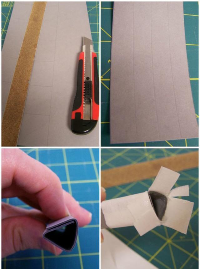 Маракасы из бумаги
