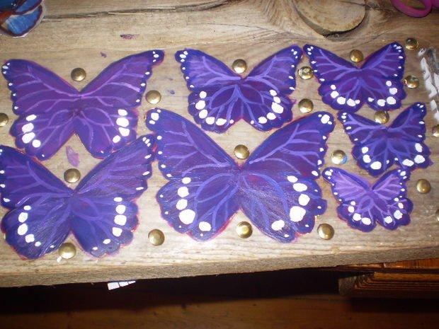Сделать своими руками бабочку из пластиковой бутылки 57