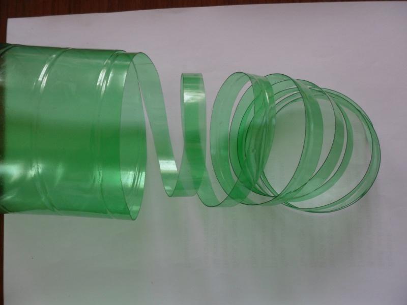 Лента из бутылок пластиковых