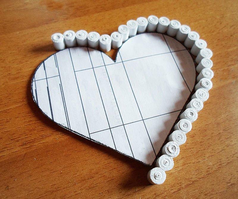 Как сделать коробку с сердечками