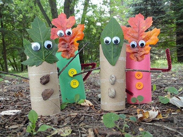 Поделки для детского сада своими руками из природного материала фото