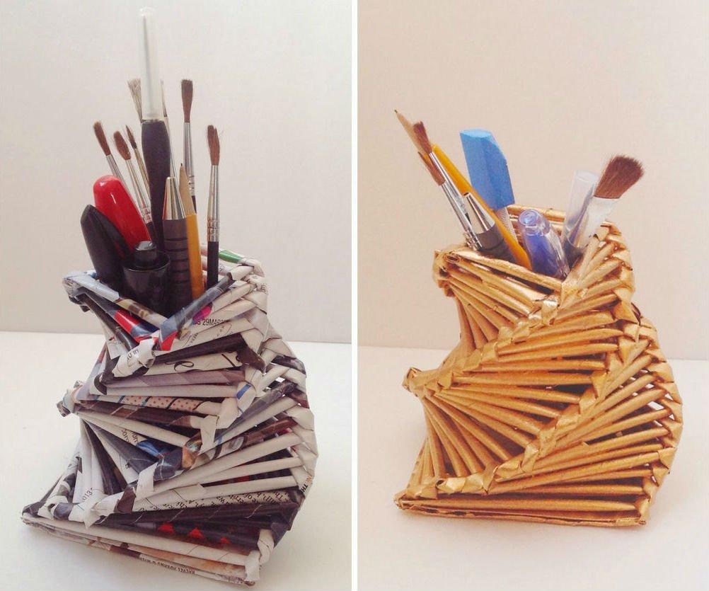Как сделать держателей карандашей 440