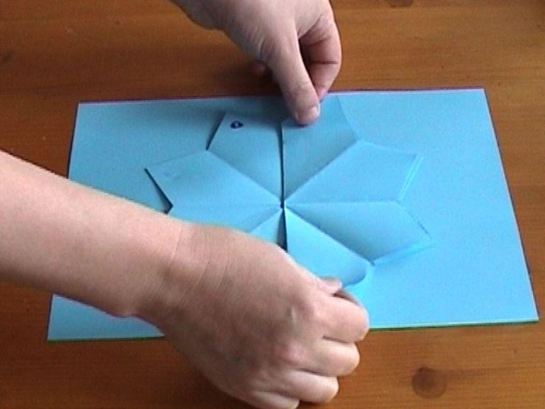 Видео объёмные открытки своими руками