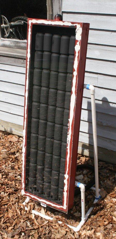 Солнечный радиатор своими руками 577