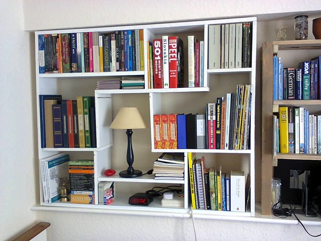 Этажерка для книг своими руками фото 23