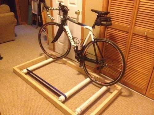 Велотренажер фото из велосипеда
