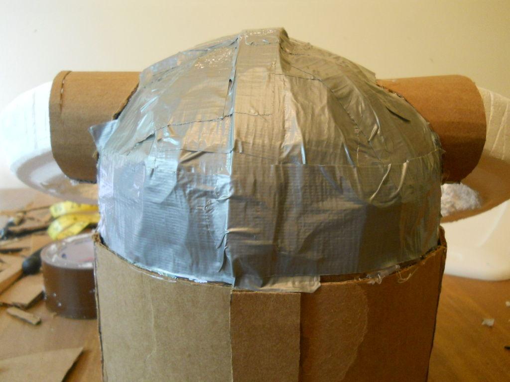 Как сделать каску из бумаги картона