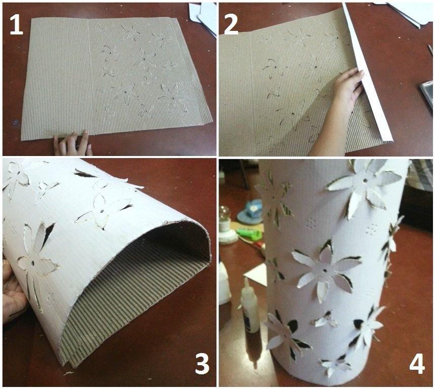 Люстра из бумаги а4 своими руками 72