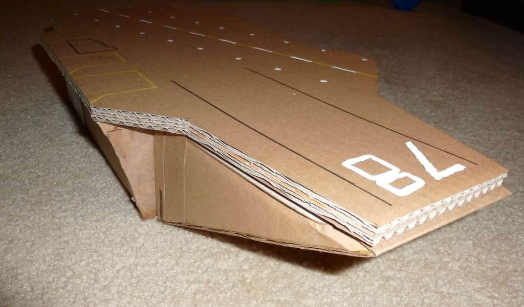 Игрушки из бумаги: авианосец Самоделки поделки - BigHandMade