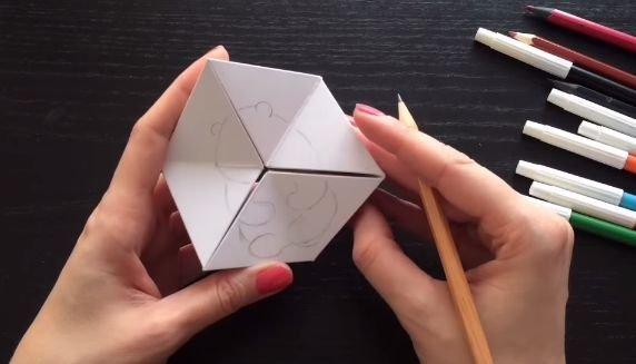 Как сделать из бумаги головоломку без клея