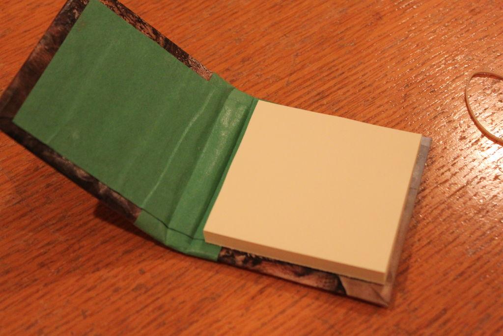 Как сделать из картона блокнот