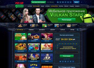Обзор онлайн казино Pin Up